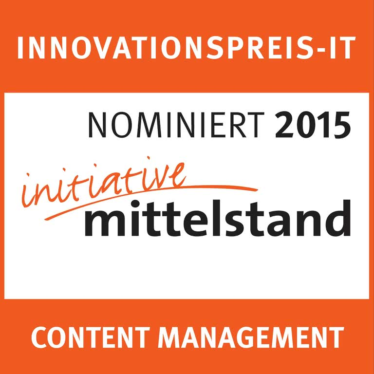 Innovationspres-IT initiative mittelstand CMS 2016